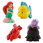 Disney Play Set - The Little Mermaid Squeeze Toy Set