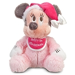 Disney Christmas Plush - Minnie Mouse - Baby's First Christmas