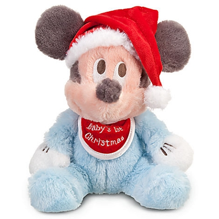 Disney Christmas Plush - Mickey Mouse - Baby's First Christmas