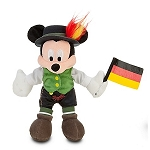 Disney Plush - World Showcase Mickey Mouse - Mini Bean Bag Plush -- Germany -- 8 1/2''