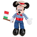 Disney Plush - Italy World Showcase Mickey Mouse Plush Toy -- 10''