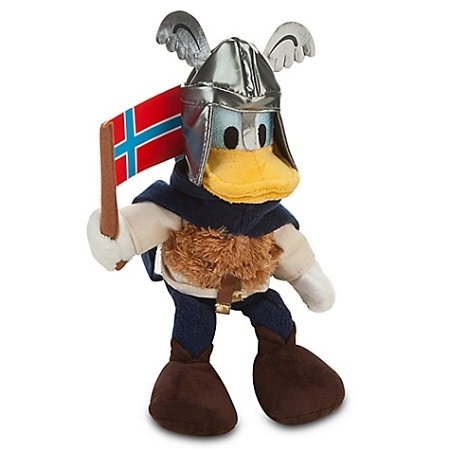 Disney Plush - Norway World Showcase Donald Duck Plush Toy -- 10''