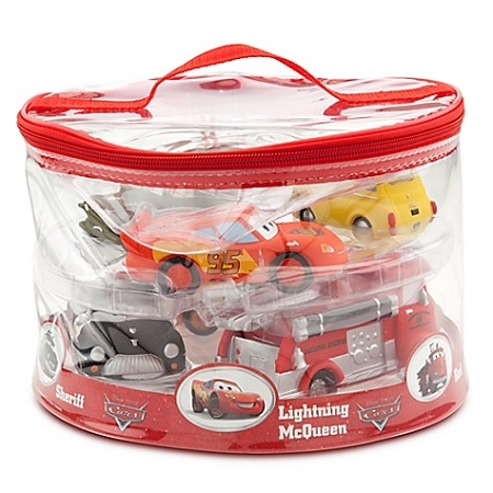 Disney Play Set - Cars Squeeze Toy Set