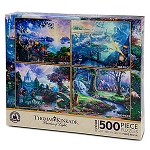 Disney Puzzle Set - Thomas Kinkade Painter of Light