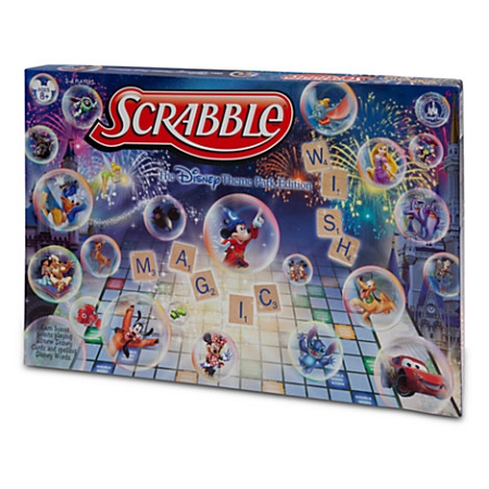 Disney Scrabble Game - Theme Park Edition