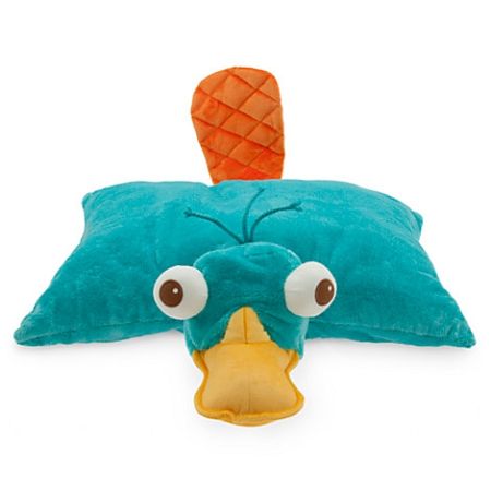 Disney Pillow Pet Phineas And Ferb Perry Pillow Plush 20