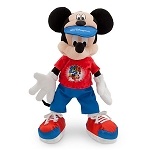 Disney Plush - 2014 Mickey Mouse - Walt Disney World