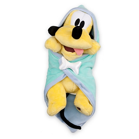 Disney's Babies Plush - Pluto - Plush Doll and Blanket