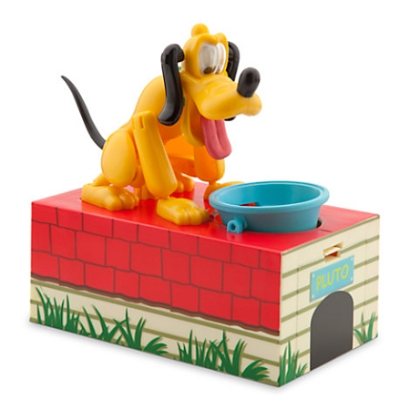 Disney Coin Bank - Pluto Animated Bank