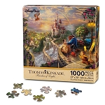 Disney Thomas Kinkade Puzzle - Beauty and the Beast - Falling in Love