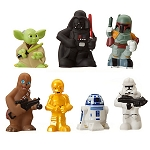 Disney Play Set - Star Wars Squeeze Bath Toy Set