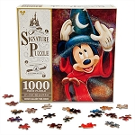 Disney Signature Puzzle - Sorcerer Mickey Mouse - Fantasia