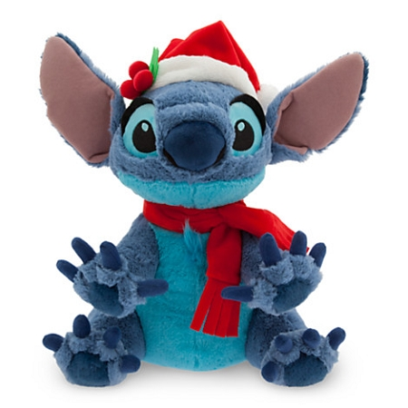 Disney Christmas Plush Santa Stitch 12