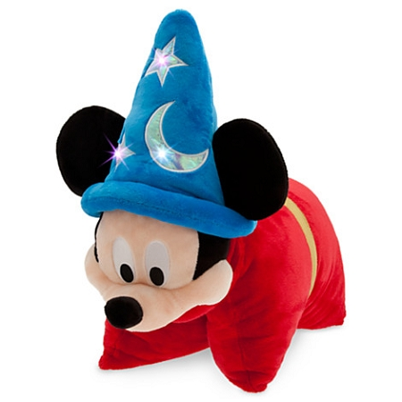 Disney Pillow Pet - Sorcerer Mickey Mouse - Light Up