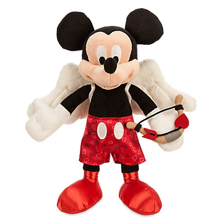 Disney Valentine's Day Plush - Mickey Mouse Cupid - 9