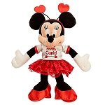 Disney Valentine's Day Plush - Minnie Mouse - I'm With Cupid