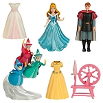 Disney Figurine Fashion Set - Sleeping Beauty - Deluxe Play Set