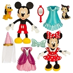 Disney Figurine Fashion Set - Mickey & Minnie - Deluxe Play Set