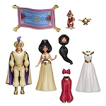 Disney Figurine Fashion Set - Jasmine - Deluxe Play Set