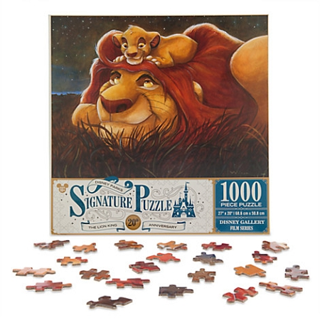 Disney Signature Puzzle - Lion King - Simba and Mufasa