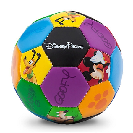 Disney Soccer Ball - Mickey Mouse and Friends - Walt Disney World