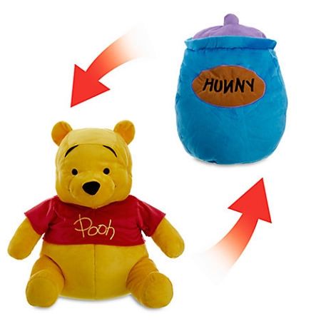 Disney Flip Pillow - Winnie the Pooh and Hunny Pot