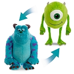 Disney Flip Pillow - Mike and Sulley