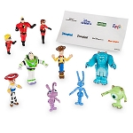 Disney Playset - Monorail Pixar Character Set