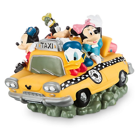 Disney Coin Bank - Mickey Mouse and Friends Cab