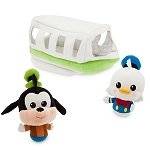Disney Plush Playset - Donald Duck and Goofy Monorail