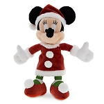 Disney Plush - Santa Minnie Mouse - Small - 7''