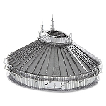 Disney 3D Model Kit - Space Mountain - Metal