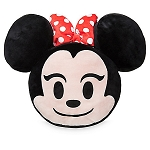 Disney Throw Pillow - Minnie Mouse Emoji