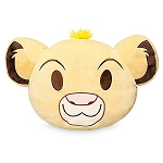 Disney Throw Pillow - Simba Emoji