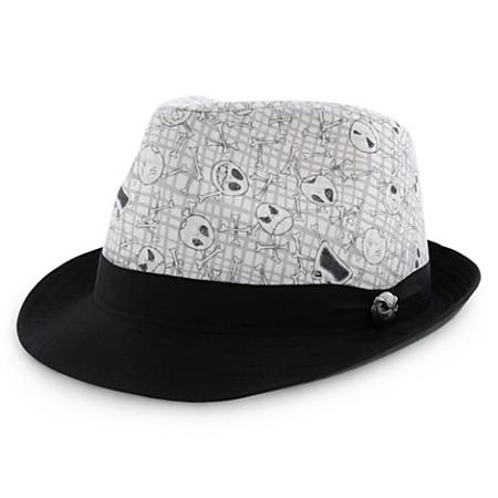481f43cf5c8a5 Disney Hat - Fedora Hat - Jack Skellington - Black and White