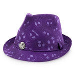 Disney Hat - Fedora Hat - Jack Skellington - Purple