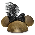 Disney Hat - Ears Hat - Minnie Mouse with Bow - Golden