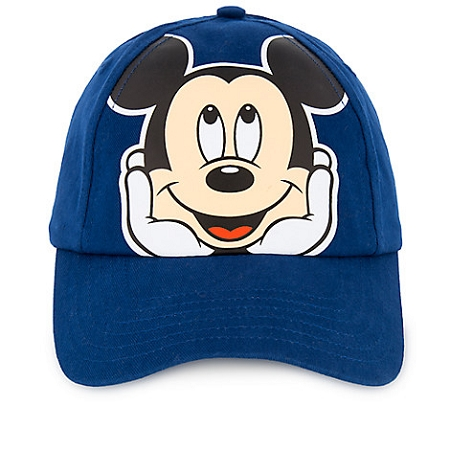 6d83c085 Add to My Lists. Disney Hat for Kids - Baseball Cap - Mickey Mouse Face