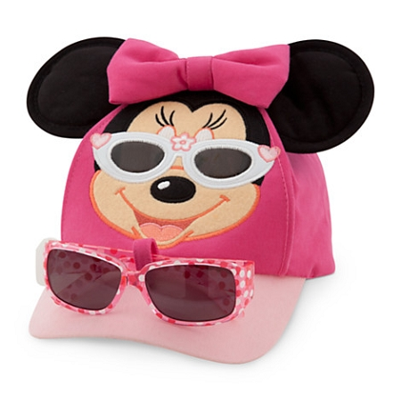 Disney Hat - Baseball Cap - Minnie Mouse with Sunglasses