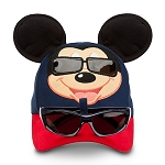 Disney Hat - Baseball Cap - Mickey Mouse with Sunglasses