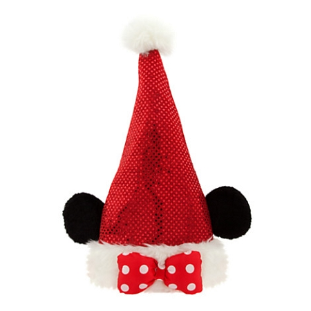 Disney Christmas Hat - Santa Minnie Mouse - Sequined