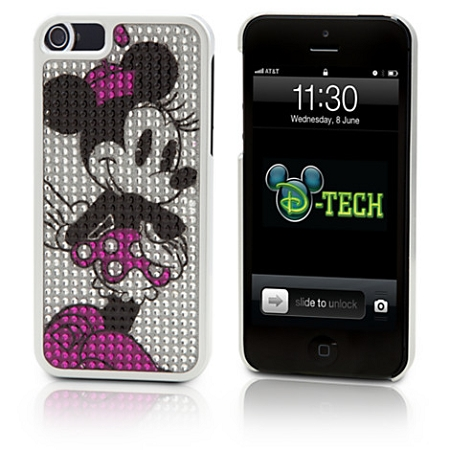 Disney Iphone 5 Case - Minnie Mouse Bling Dotty