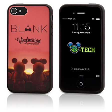 Disney IPhone 4/4S Case - Blank Vinylmation - Limited Release