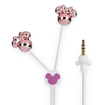 Disney Earbuds Headphones - Minnie Mouse Icons - Pink