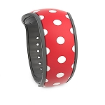 Disney Magic Band 2 - Minnie Mouse Polka Dots - Red