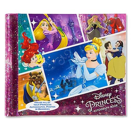 disney autograph book disney princess deluxe
