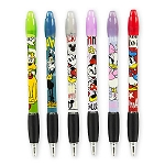Disney Pen Set - Mickey Mouse and Friends - Fab 6