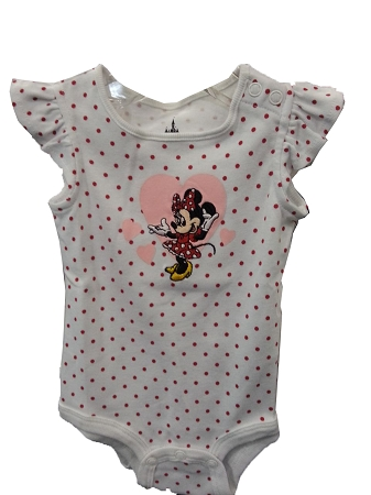 Disney Bodysuit for Infant - Minnie Mouse - Polka Dots