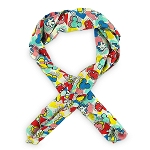 Disney Scarf - Mickey Mouse 80s Flashback