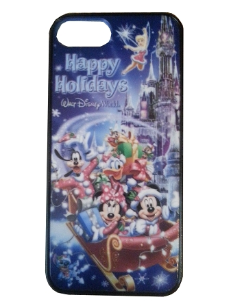 Disney IPhone 4/4S Case - Happy Holidays - Mickey and Friends Sleigh